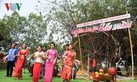 กิจกรรมต่างๆที่หมู่บ้านวัฒนธรรม-การท่องเที่ยวชนเผ่าเวียดนามเพื่อฉลองวันวัฒนธรรมชนเผ่าเวียดนาม