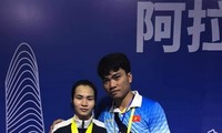 เวียดนามคว้า 3 เหรียญทองในการแข่งขันยกน้ำหนักชิงแชมป์เอเชีย