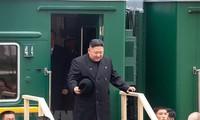 ผู้นำสาธารณรัฐประชาธิปไตยประชาชนเกาหลีเดินทางกลับประเทศหลังการพบปะสุดยอดกับประธานาธิบดีรัสเซีย