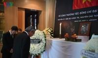 พิธีไว้อาลัยพลเอก เลดึ๊กแองห์ อดีตประธานประเทศเวียดนามในประเทศต่างๆ