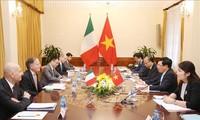 เวียดนามและอิตาลีปฏิบัติแผนหุ้นส่วนยุทธศาสตร์ระยะปี 2019-2020