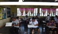 การเลือกตั้งในฟิลิปปินส์: ผู้ลงสมัครที่ได้รับการสนับสนุนจากประธานาธิบดีได้รับชัยชนะในการเลือกตั้งวุฒิสภา