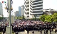 ตำรวจอินโดนีเซียได้ประกาศภาวะฉุกเฉินระดับ 1หลังจากมีชาวอินโดนีเซียกว่า 1,300 คนชุมนุมประท้วงที่กรุงจาการ์ตา