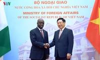 เวียดนามให้ความสำคัญขยายความสัมพันธ์มิตรภาพและความร่วมมือกับไอวอรีโคสต์