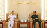 กองทัพเวียดนามและไทยขยายความร่วมมือลาดตระเวนทางทะล