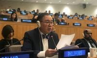 รัฐมนตรีต่างประเทศฟิลิปปินส์ขอบคุณเวียดนามที่ช่วยชีวิตชาวประมงฟิลิปปินส์ในทะเลตะวันออก