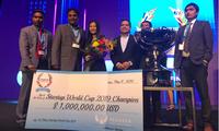 Start-up กลุ่มแรกของเวียดนามคว้าอันดับ 1 ในการประกวด Start-up World Cup