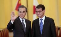 การพบปะทวิภาคีสำคัญๆนอกรอบการประชุมรัฐมนตรีต่างประเทศจีน – ญี่ปุ่น – สาธารณรัฐเกาหลีครั้งที่ 9