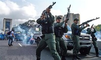 Venezuelan President: Coup cannot preserve peace