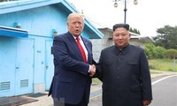 US President praises relations with North Korea