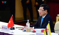 ASEAN, China ministers discuss East Sea developments