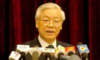 Phát biểu của Tổng Bí thư tại Hội nghị BCH Trung ương Đảng