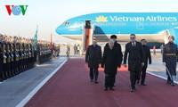 Tổng Bí thư Nguyễn Phú Trọng kết thúc tốt đẹp chuyến thăm chính thức Cộng hòa Belarus