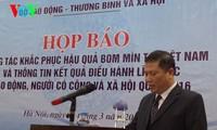 Việt Nam là một trong những quốc gia bị ô nhiễm bom mìn lớn nhất trên thế giới