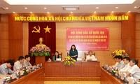 Hội đồng bầu cử Quốc gia giám sát, kiểm tra công tác bầu cử tại tỉnh Vĩnh Phúc