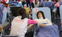 Phó Thủ tướng Vũ Đức Đam gặp mặt 100 người hiến máu tình nguyện tiêu biểu Việt Nam năm 2016