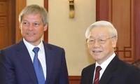 Việt Nam mong muốn tăng cường quan hệ hữu nghị, hợp tác nhiều mặt với Romania