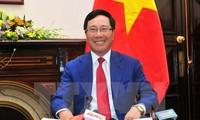 Việt Nam sẽ tiếp tục tham gia chủ động tích cực vào quá trình hội nhập toàn cầu