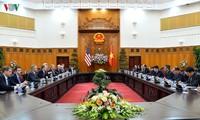 Quan hệ Việt Nam - Hoa Kỳ tiếp tục phát triển tốt đẹp trên nhiều mặt