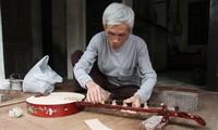 Làng làm đàn Đào Xá, nơi lưu giữ thanh âm hồn Việt