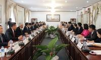 Quan hệ giữa Văn phòng Chủ tịch nước Việt Nam và Lào ngày càng được thắt chặt
