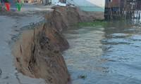 Chính phủ và các chuyên gia quan tâm đến vấn đề sạt lở và an ninh nguồn nước sông Mekong