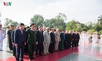 Lãnh đạo Đảng, Nhà nước tham dự Cầu Truyền hình kỷ niệm 70 năm Ngày Thương binh - Liệt sỹ