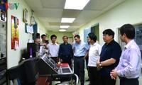 Tổng Giám đốc Đài TNVN Nguyễn Thế Kỷ làm việc tại Bình Định