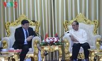 Đoàn đại biểu Đài Tiếng Nói Việt Nam thăm và làm việc tại Lào