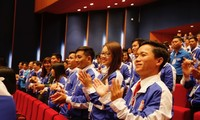Phiên làm việc thứ nhất Đại hội Đoàn Thanh niên Cộng sản Hồ Chí Minh toàn quốc lần thứ XI