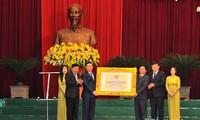 Phó Thủ tướng Vương Đình Huệ dự lễ kỷ niệm 150 năm Ngày sinh Chí sỹ yêu nước Phan Bội Châu