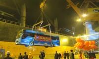 Cảng Sài Gòn đón tàu hàng đầu tiên năm 2018