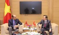 Hội nghị APPF-26: Phó Chủ tịch Quốc hội Phùng Quốc Hiển tiếp Đoàn đại biểu Vương quốc Maroc