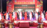 """Khai mạc """"Tuần lễ văn hóa Hội An - Thành phố Thanh Hóa"""""""