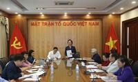 Chủ tịch  MTTQ Việt Nam làm việc với Hội Khuyến học và UBĐK công giáo Việt Nam