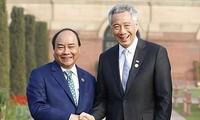 Thúc đẩy hợp tác Việt Nam-Singapore lên tầm cao mới