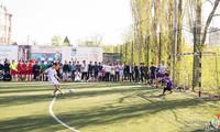Giao lưu thanh niên và tổ chức giải bóng đá Voronezh mở rộng nhân dịp 30/4
