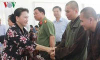 Chủ tịch Quốc hội Nguyễn Thị Kim Ngân tiếp xúc cử tri huyện Phong Điền, Cần Thơ