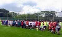 Giải bóng đá Cúp Hùng Vương được tổ chức sôi nổi tại Singapore