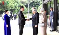 Lễ đón Chủ tịch nước được tổ chức trọng thể tại Hoàng cung Nhật Bản