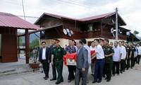 Lễ hồi hương, đưa tiễn hài cốt quân tình nguyện và chuyên gia Việt Nam hy sinh tại Lào