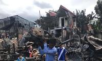 Mặt trận Tổ quốc Việt Nam hỗ trợ các gia đình người Việt tại Campuchia bị hỏa hoạn 1,4 tỷ đồng