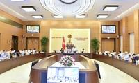 Bế mạc phiên họp thứ 25, Ủy ban Thường vụ Quốc hội
