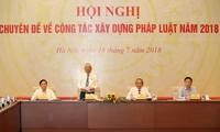 Hội nghị chuyên đề công tác xây dựng pháp luật năm 2018