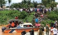 Việt Nam chia sẻ sâu sắc với nhân dân Lào về những thiệt hại từ việc vỡ đập thủy điện