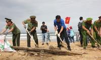 Lễ ra quân làm sạch môi trường biển 2018