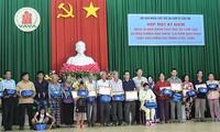 Chung tay hỗ trợ, chăm sóc các nạn nhân chất độc da cam