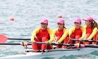 Chèo thuyền Rowing mở hàng HCV Asiad 2018 cho Việt Nam
