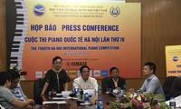 9 quốc gia và vùng lãnh thổ tham dự cuộc thi Piano quốc tế Hà Nội