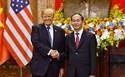 Ông Donald Trump: Chủ tịch nước Trần Đại Quang là người bạn tuyệt vời của Mỹ